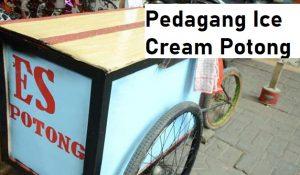 Pedagang Ice Cream Potong