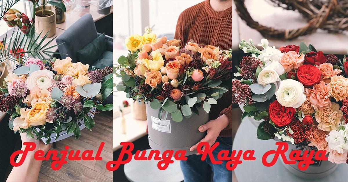 Penjual Bunga Kaya Raya